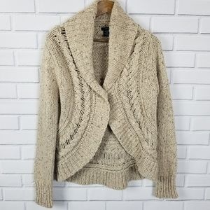 Calvin Klein Jeans Long Sleeve Wool Knit Cardigan
